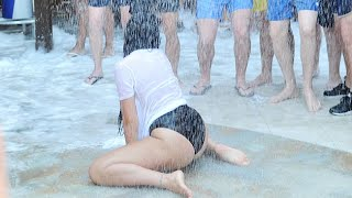 Repeat youtube video EXCLUSIVE: Geordie Shore Wet T-Shirt & Foam Party At Nissi Beach, Ayia Napa