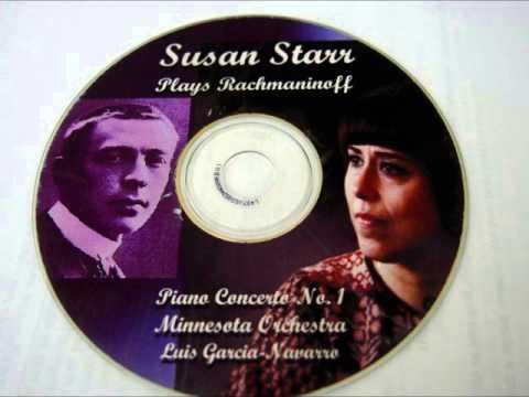 Susan Starr Plays Rachmaninoff Piano Concerto No. 1