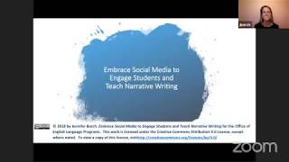 AE Live 3.3: Embracing Social Media to Engage Students and Teach Narrative Writing