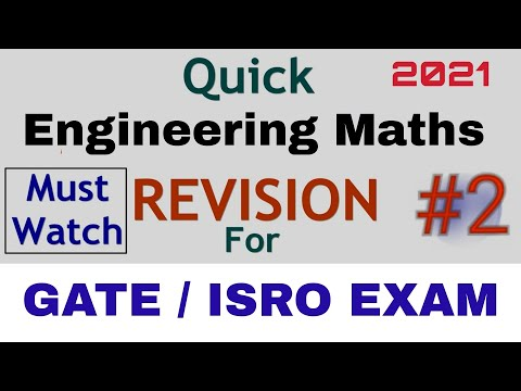 ISRO Preparation : Mathematics Quick Revision #2