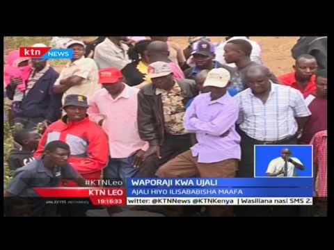 KTN Leo: Wakaazi wa Mweiga-Nyeri wageuza mkasa wa ajali kuwa mahala pa kupora mali