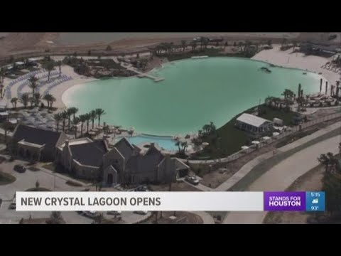 Crystal Lagoon in Humble neighborhood expected to open next month