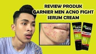LANGSUNG PUTIH!!!! JERAWAT HILANG!!!! Review Garnier Men Acno Fight Cream