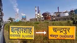 TAMIL NADU EXPRESS !! BALHARSHAH to CHANDRAPUR | Indian Railways