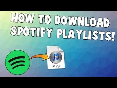 HOW TO DOWNLOAD SPOTIFY SONGS TO MP3 FOR FREE