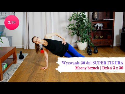 Wyzwanie treningowe dla kobiet 30 dni - SUPER FIGURA   Mocny brzuch [3 z 30]