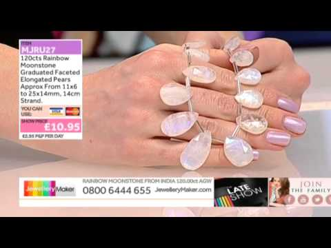 Chain and Earing Findings for Jewellery Making: JewelleryMaker LIVE 17/01/2015