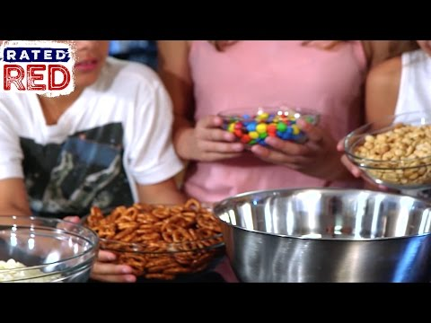 Recipes With Rocco: White Chocolate Snack Mix