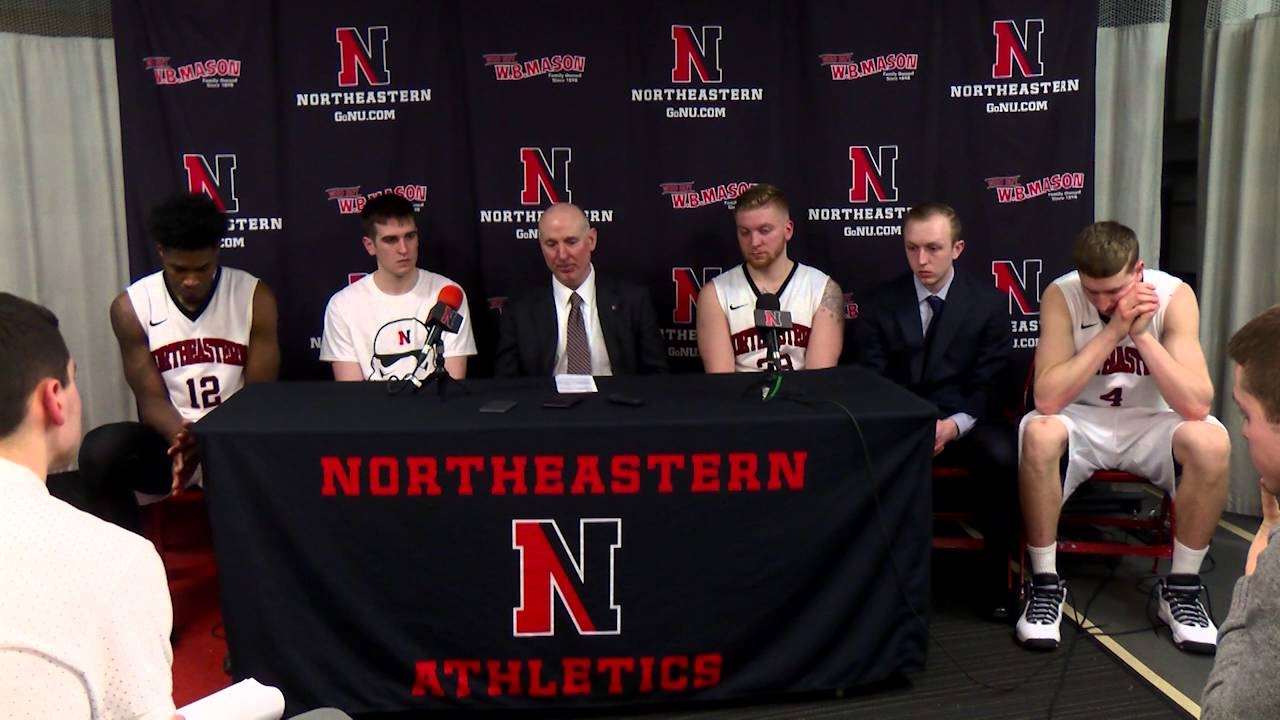 Mens Basketball vs. Monmouth Press Conference - YouTube