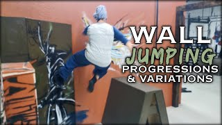 Wall Jumping Progressions | Parkour Tic Tac | Natural Movement Skill