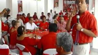 Carvallo brinda respaldo total a Gaspar Cruz Peña mpg