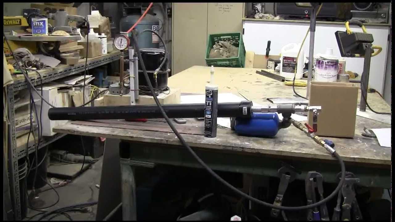 Air Cannon #46 - Barrel Sealing Piston Valve Cannon