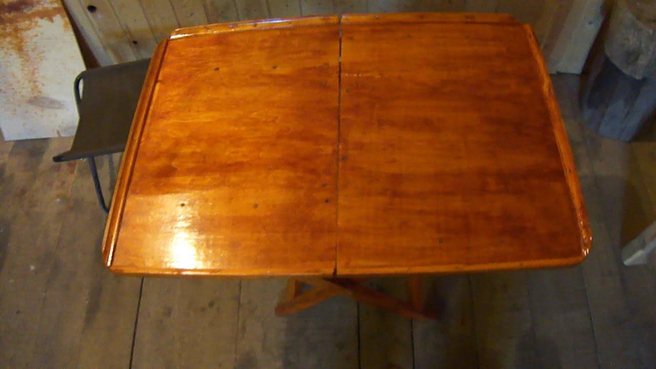 Как сделать походный стол фото 859