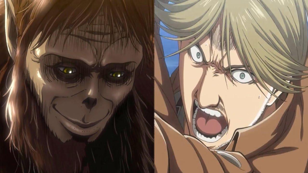 Attack on Titan Episode 26 Anime Review - The Beast Titan ...