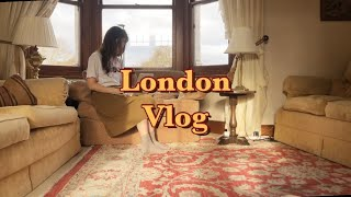 Vlog 런던 브이로그. 홈서윗홈. 하우스 쉐어. 노팅…