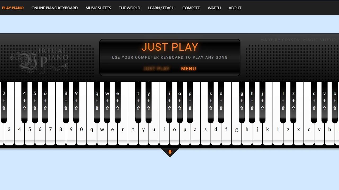 Coffin Dance Meme Easy Virtual Piano Sheet Youtube