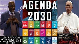GC Adventist, Pope Unite Religions For UN Development Sustainable Goals Agenda 2030 Depopulation