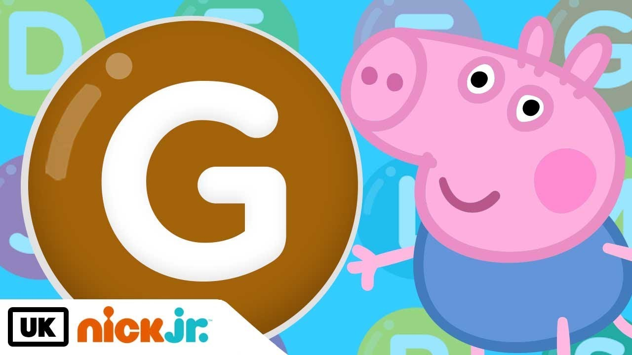 Words Beginning With G Featuring Peppa Pig Nick Jr Uk