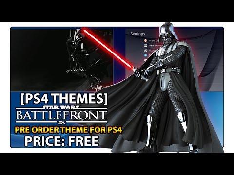 [PS4 THEME] Star Wars Battlefront Darth Vader Theme