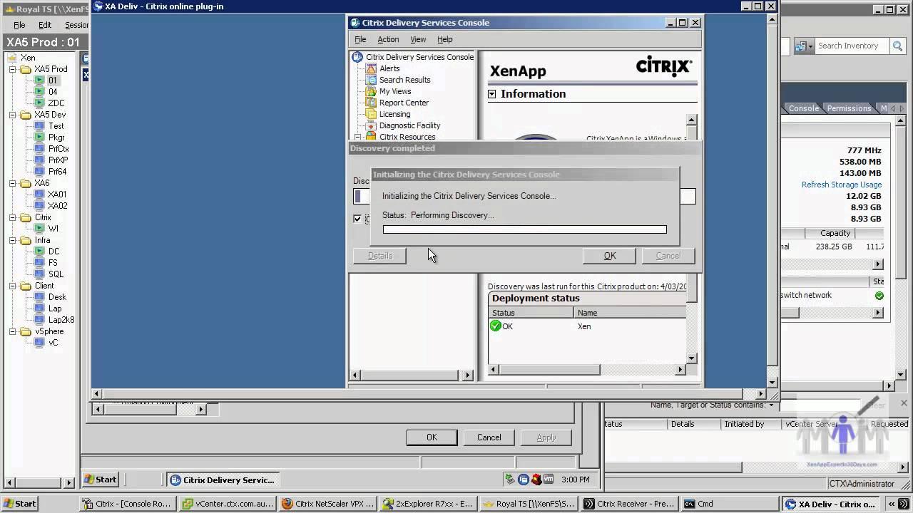 Citrix XenApp multi-monitor - resolution clip