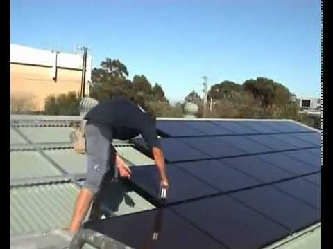 Greening Australia SA Solar Panel installation by Green Corps