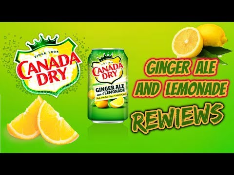 Trying Out Canada Dry Ginger Ale And Lemonade Soda Review