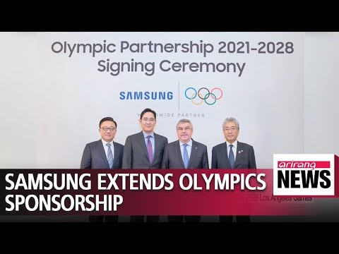 Samsung Electronics extends Olympic sponsorship to 2028 Los Angeles Games