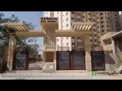 FLAT FOR SALE IN GULSHAN-E-IQBAL BLOCK 1 KARACHI