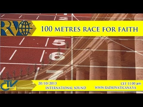 100 meters race in faith