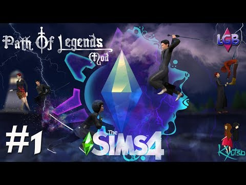 The Sims 4: The Path Of Legends Assassin Mod #1 Ninja Attack