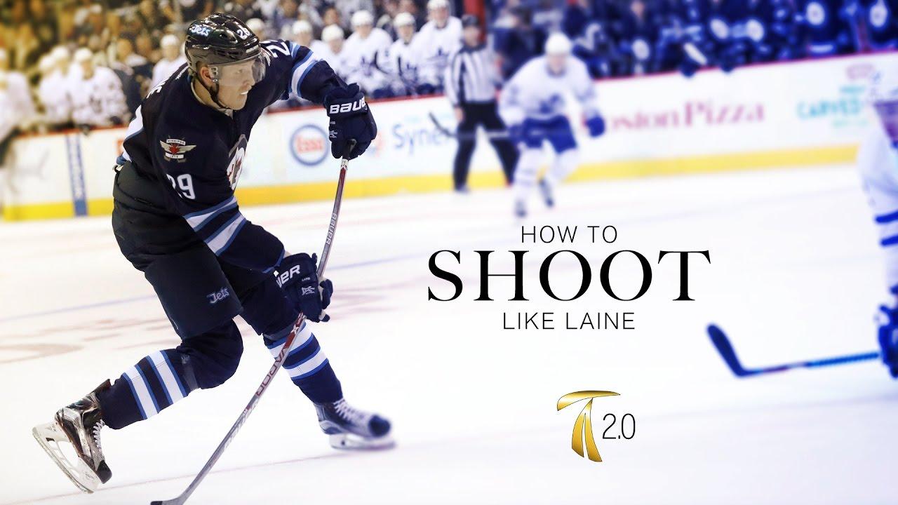 How To Shoot Like Patrik Laine Youtube
