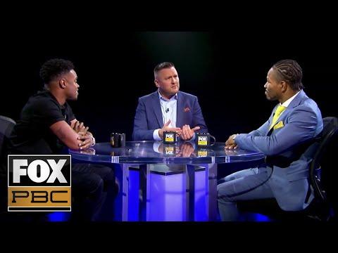 Errol Spence Jr. and Shawn Porter go face-to-face | PBC ON FOX