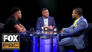 Errol Spence Jr. and Shawn Porter go face-to-face   PBC ON FOX