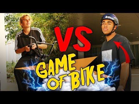 LE GAME OF BIKE ULTIME EN BMX ! Maxence vs Cameron