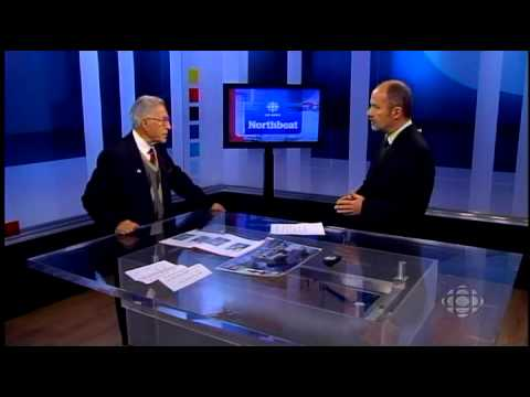 Ben Lesser - NWT CBC News April 2012