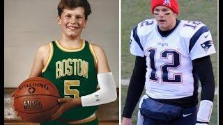 NFL stars when they were kids