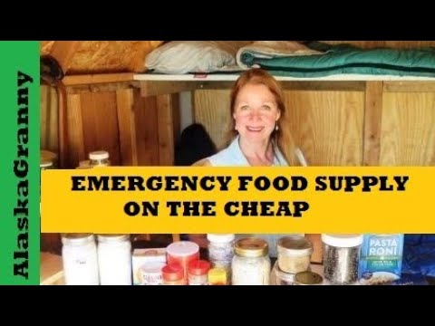 How to Build Emergency Food Supply on the Cheap