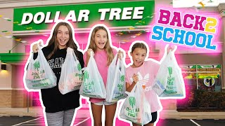 Back to School Dollar Tree Shopping Spree + Haul! Its R Life