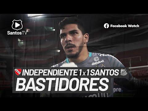 INDEPENDIENTE 1 X 1 SANTOS | BASTIDORES | CONMEBOL SUL-AMERICANA (22/07/21)