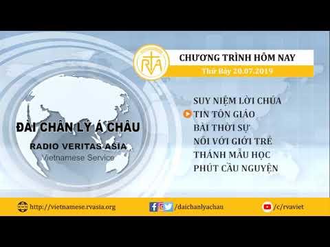 CHƯƠNG TRÌNH PHÁT THANH, THỨ BẢY 20/07/2019