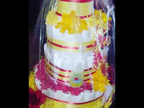 Winnie The Pooh Inspired Diaper Cake