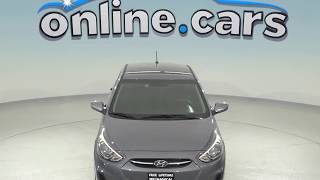 R98524TR Used 2017 Hyundai Accent SE FWD 4D Hatchback Gray Test Drive, Review, For Sale