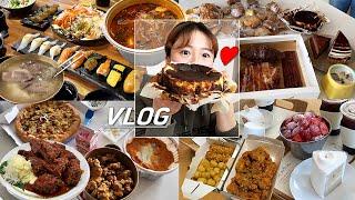 [Vlog] 좋은 사람들과 좋은 시간 (곰탕, 감자탕,…
