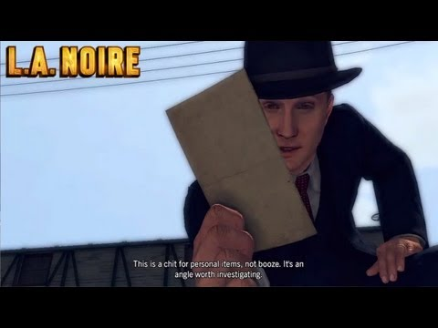 L.A. Noire - Case #12 - The Studio Secretary Murder (Five Stars)