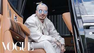 J Balvin Gets Ready for the Dior Men's Show | Vogue
