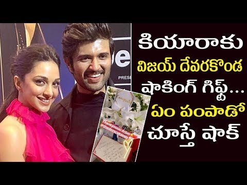 Vijay Devarakonda Sends Special Gift To Kiara Advani | Arjun Reddy About Kabir Singh Movie Mp3