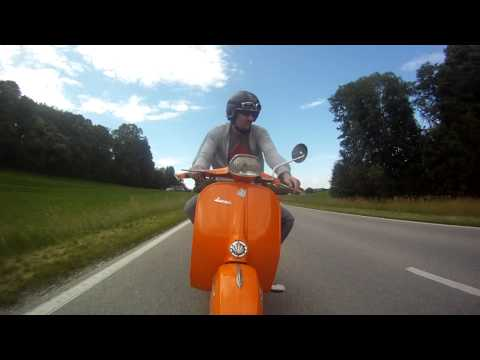 GoPro HD/Vespa 150 Sprint