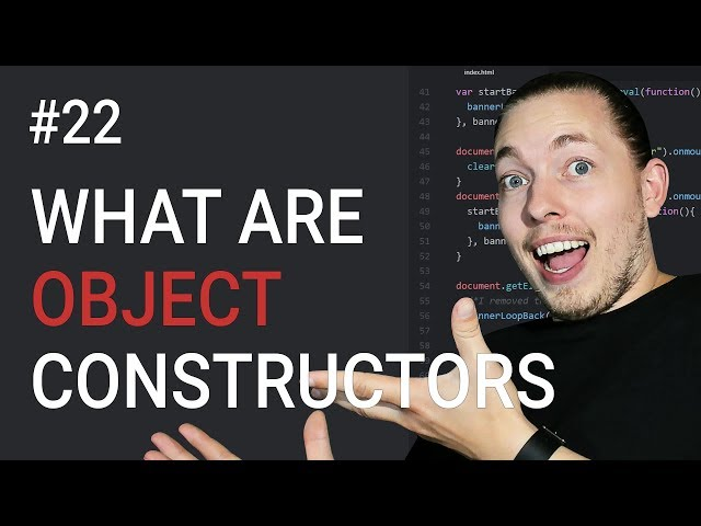 22: How to Create Object Constructors | Object Constructors in JavaScript | JavaScript Tutorial