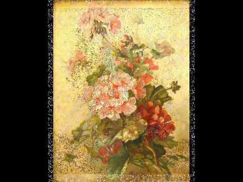 Dipinti antichi di fiori mostra da ghilli antiquariato for Fiori di ciliegio dipinti