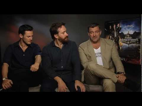 Matthew Macfadyen, Ray Stevenson, Luke Evans On The Three Musketeers | Empire Magazine